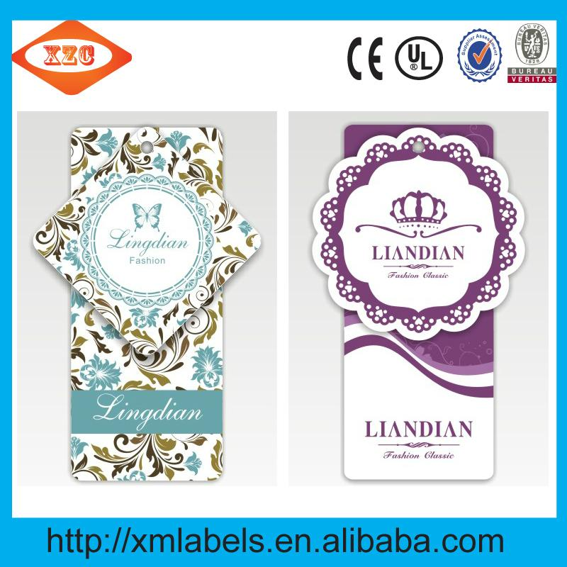 Custom tags both men and women clothing brand clothing label printing 4