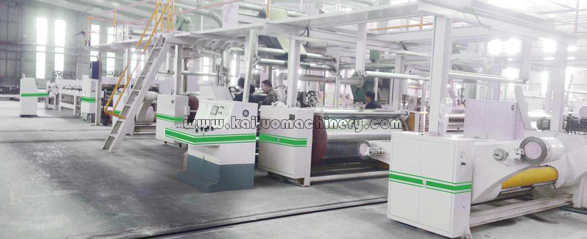 KTCBL 3/5/7 Ply Corrugated Cardboard Production Line 3