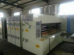 Carton Flexo Multi-colour Printing Slotting Die-cutting machine