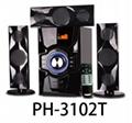 3.1Ch multimedia speaker system