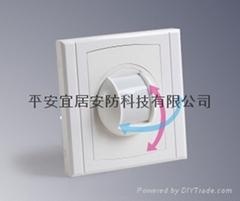 嵌入式幕帘式被動紅外探測器(專利產品)