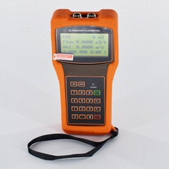 Handheld Ultrasonic Liquid Flow Meter TUF-2000H DN50-700mm Digital flowmeter
