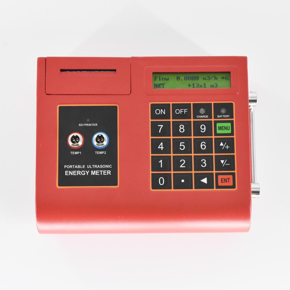 Ultrasonic Flowmeter with Temperature/Heat Meter TUC-2000E built-in Printer