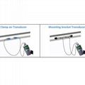 Ultrasonic flowmeter TUF-2000H HM Bracket Sensor /Extended DN50-700mm Flow Meter