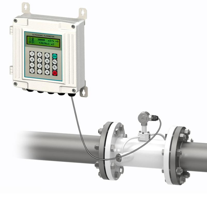 Ultrasonic Flow Meter Split type Pipe Transducers Flange Connection TUF-2000SW 1