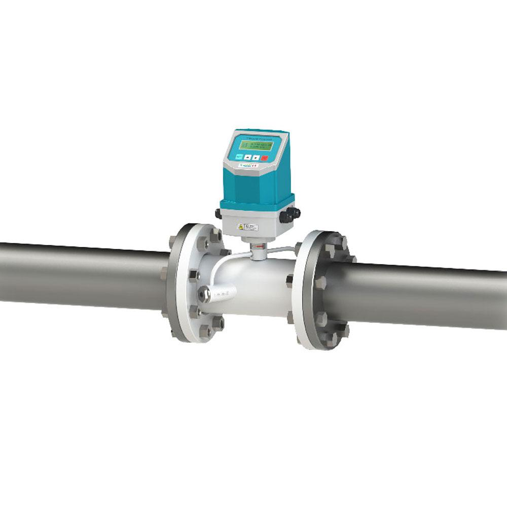 IP68 Integrated Fixed Ultrasonic Flow Meter TUF-2000F Liquid flowmeter Pipe Type 1