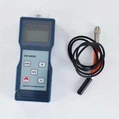 Digital Coating Thickness Gauge (F Type Magnetic Induction) CM-8820 0-2000µm