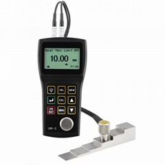 Handheld Ultrasonic Thickness Gauge Portable Thickness Meter UM-2 0.8-300mm