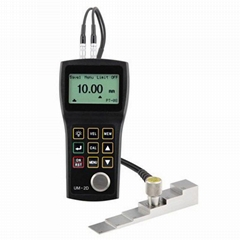Ultrasonic Thickness Gauge through coating UM-2D Thickness Tester 1.0mm-300mm
