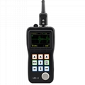 Ultrasonic Thickness Gauge Color screen UM-4 Thickness Meter A-Scan Snapshot