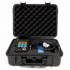 Ultrasonic Thickness Gauge Color Screen A&B Scan UM-5 Metal Thickness Meter