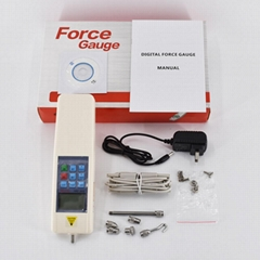 Pull Push Force Gauge Digital Dynamometer 2-500N Force Gage Tools and Equipment