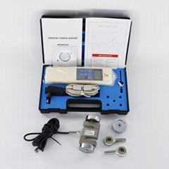 5000N Digital force gauge HF-5K push pull force tester RS232 HF-5000 N/KG/LB