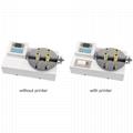 Test tubes screw caps digital bottle cap lid torque meter ANL-P20 with printer