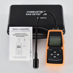 Combustible Gas Detector SPD202/Ex Acousto-optic alarm Flammable gas leakage