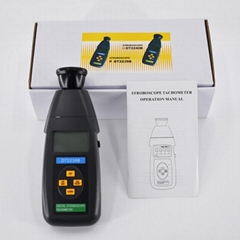 Stroboscope DT2239B Non-Contact flash tachometer 60~19,999RPM