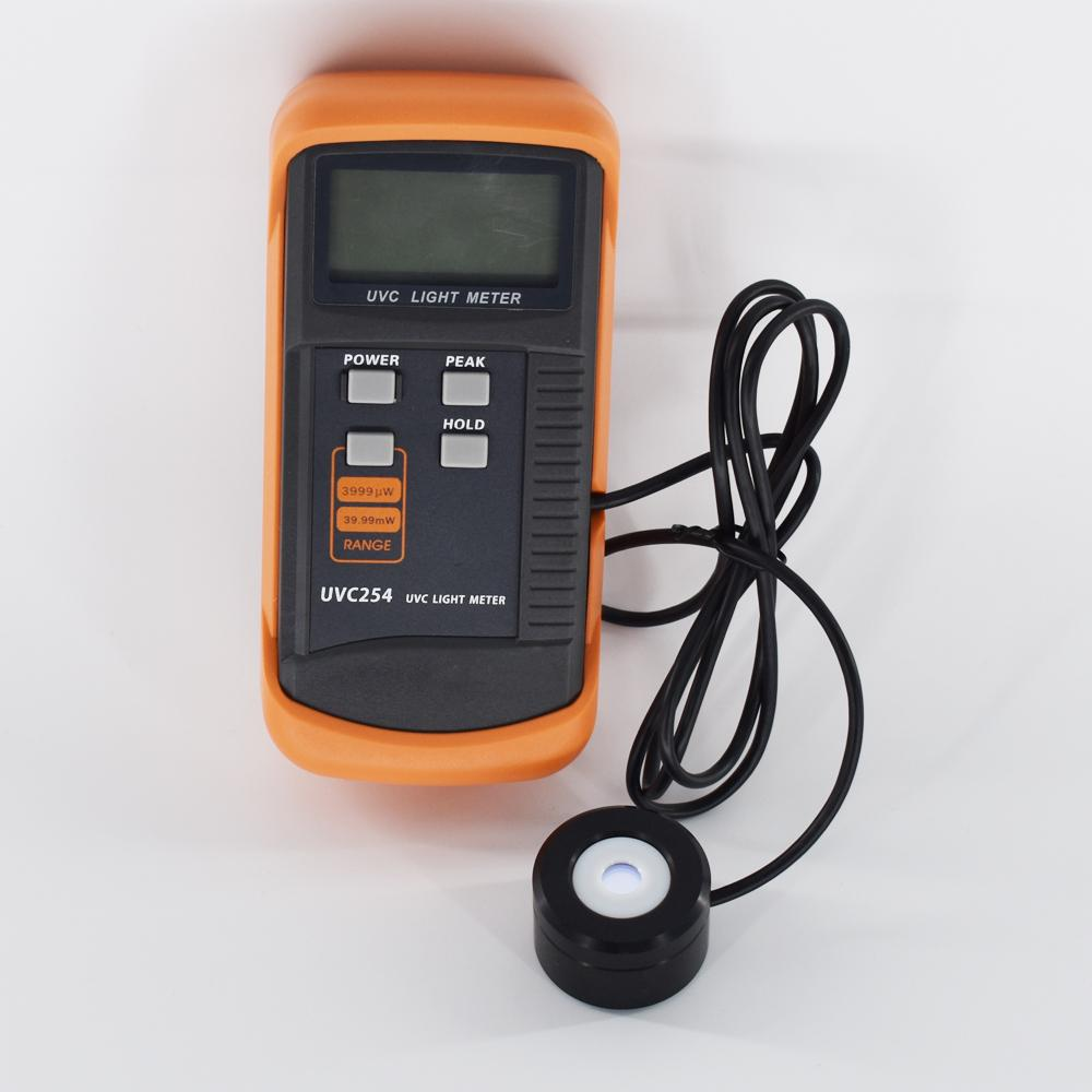 UVC Light Meter UVC254 UV meter measurement of UV radiation intensity Radiometer 1