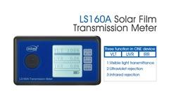 Window Tint Transmission Meter with IR UV blocking rate VL transmittance LS160A