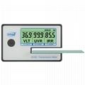 Transmission Meter solar film glass window tint VL transmittance UV IR rejection