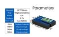 Film for car window transmission meter Filmed Glass Tester UV IR rejection meter