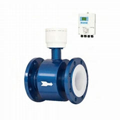 Split type Electromagnetic Flowmeter Flange connection High precision DN10-2000