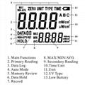 UV Light Meter SENTRY ST-512 measure ultraviolet light range 220-275nm UVC