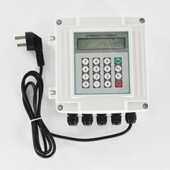 Ultrasonic Flowmeter Wall-mounted Digital Flow Meter TUF-2000SW TM-1 Transducer