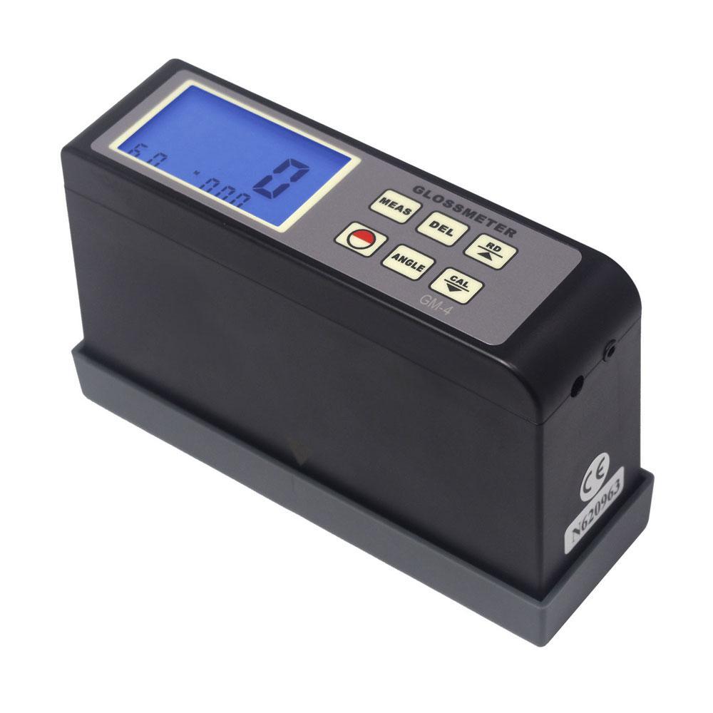 Gloss Meter 45 Degree Measuring Angle 0.1-200 Gu GM-4 digital gloss tester