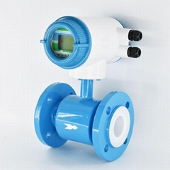 Integral Type Electromagnetic Flowmeter DN10mm-2000 Flange connection flow meter (Hot Product - 1*)