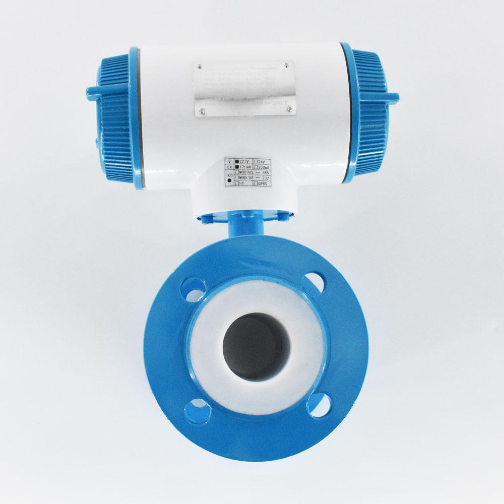 Integral Type Electromagnetic Flowmeter DN10mm-2000 Flange connection flow meter 5