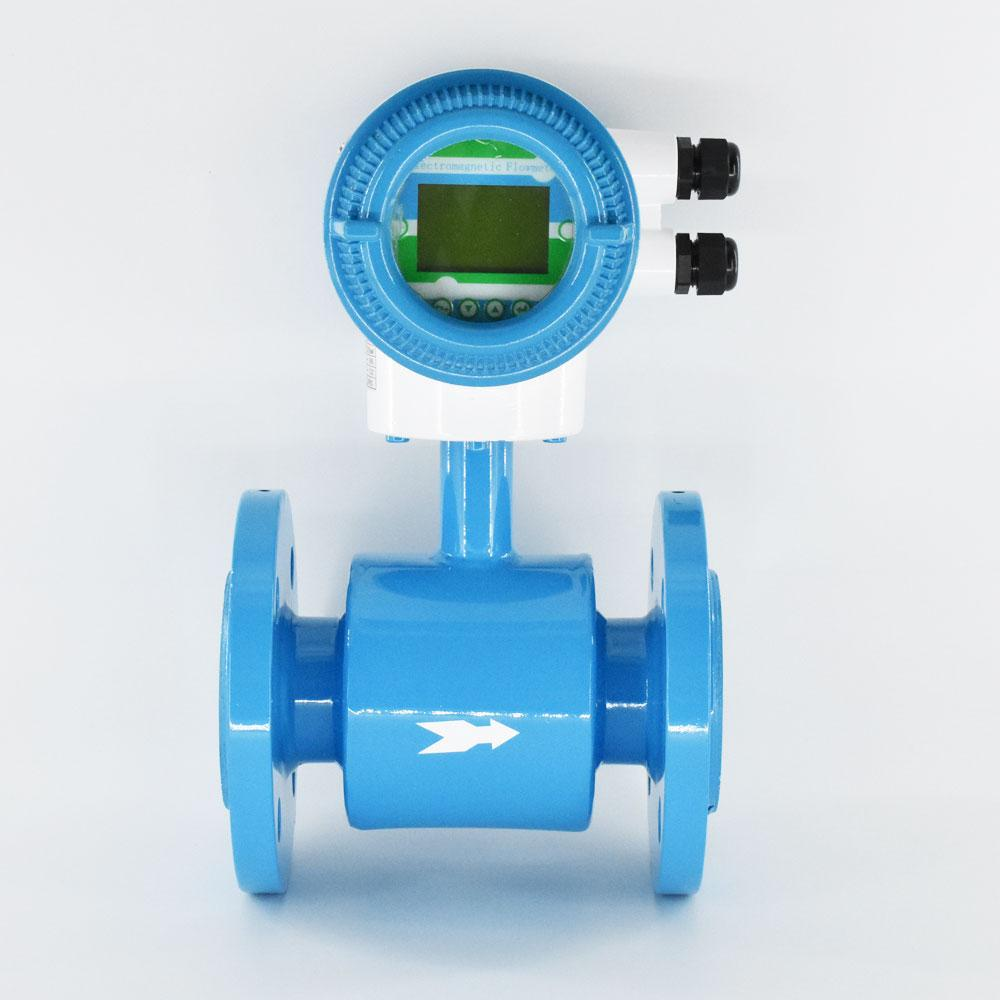 Integral Type Electromagnetic Flowmeter DN10mm-2000 Flange connection flow meter 4