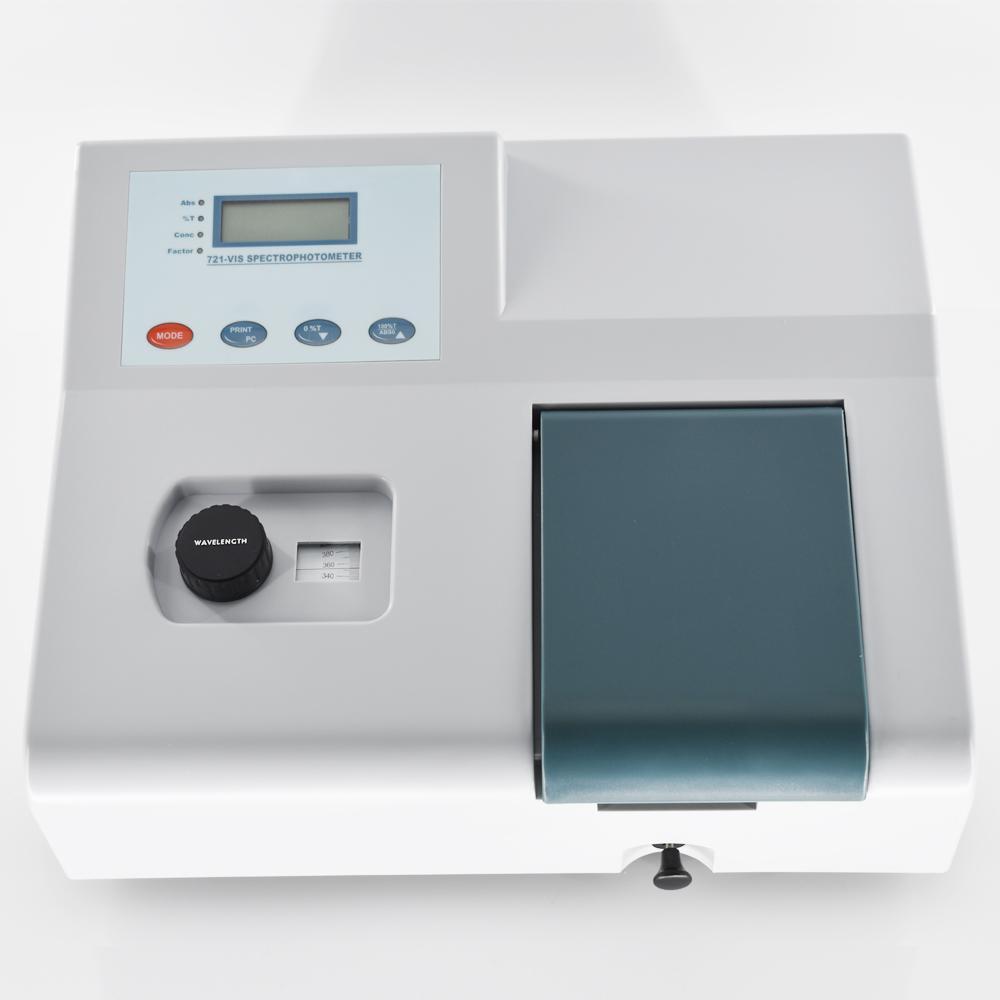 Visible Spectrophotometer 721 350-1020nm Wavelength range Spectral Bandwidth 6nm