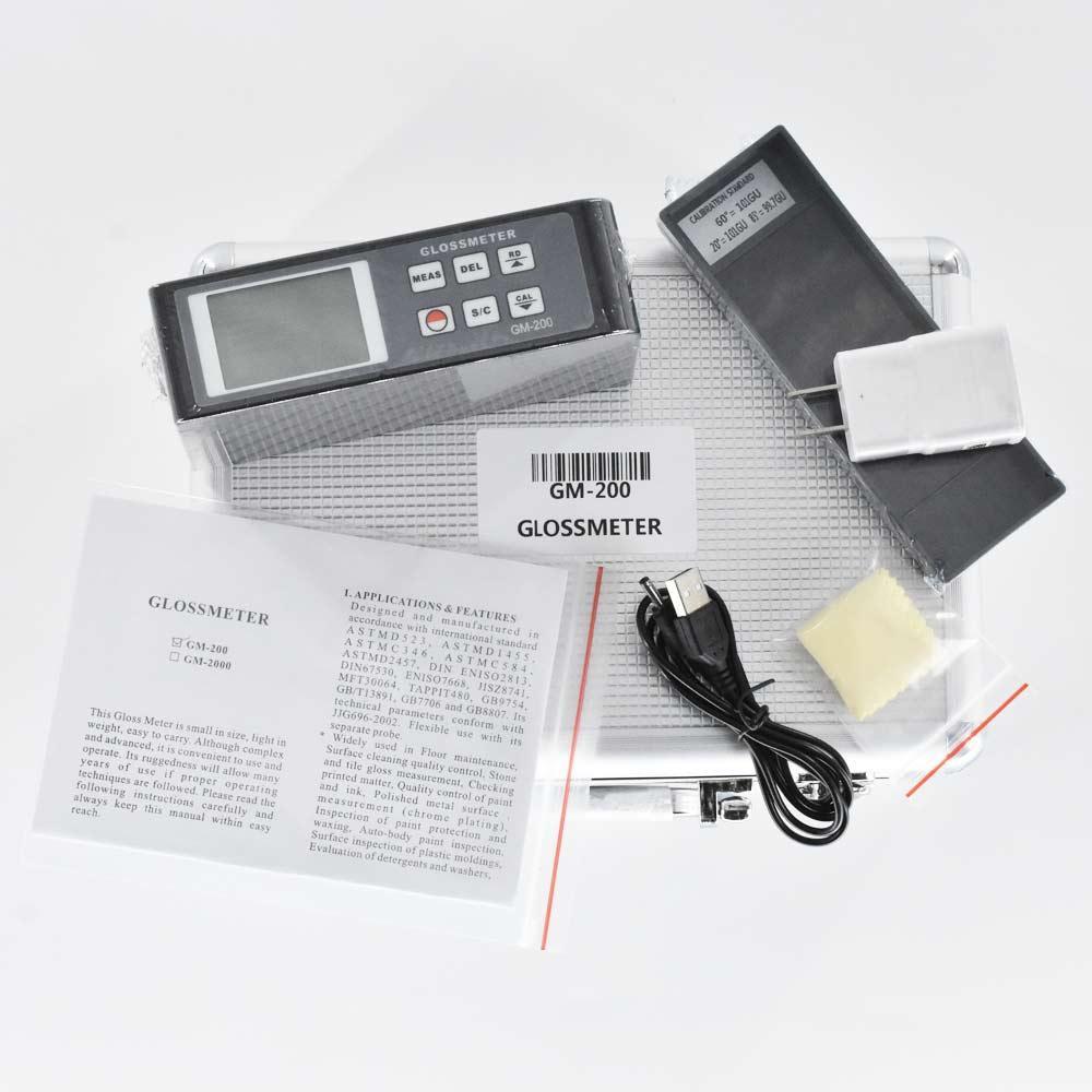 Multi-Angle Gloss Meter Tester 20/60/85 Degree 0.1-200GU Glossmeter Stone Tile 2