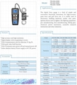 Pull and push dynamometer Tester 9800N Digital Force Gauge FM-204-1000K N,kg,lb