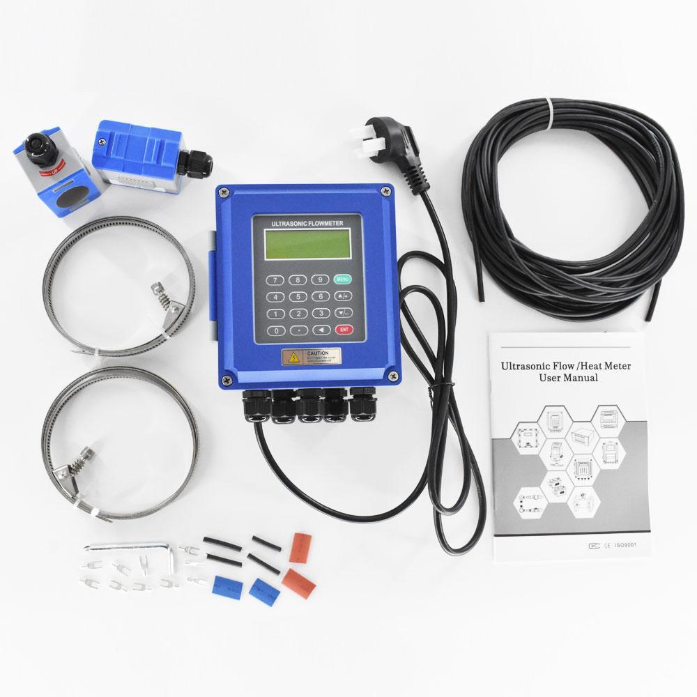 Ultrasonic flow meter liquid flowmeter IP67 protection TUF-2000B DN50-700mm TM-1 1