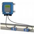 Ultrasonic flow meter liquid flowmeter IP67 protection TUF-2000B DN50-700mm TM-1 15