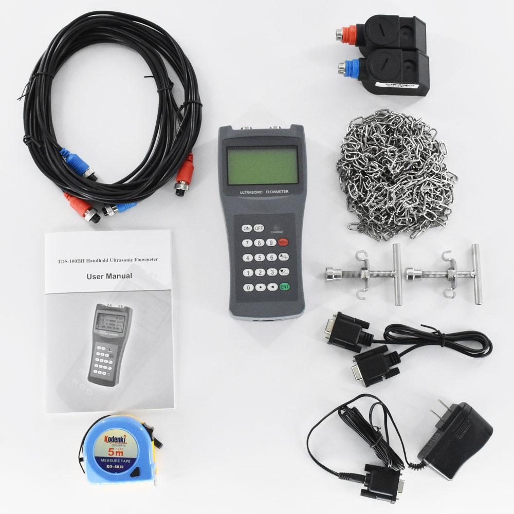 TDS-100H M2 Ultrasonic Flow meter Clamp on Sensor DN50mm-700mm Liquid flowmeter