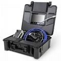 30M Fiberglass push rod sewer inspection