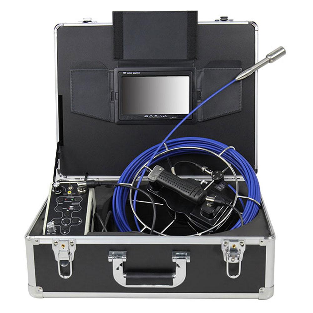 Drain Pipe Inspection CCTV Camera System with DVR Video Recording