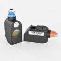 Portable Ultrasonic Water Flowmeter TDS-100P Built-in Printer DN50mm-DN700mm