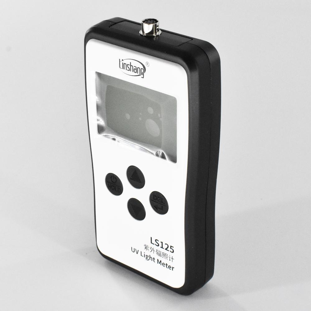 LS125 UV light meter test ultraviolet power UV intensity energy 8