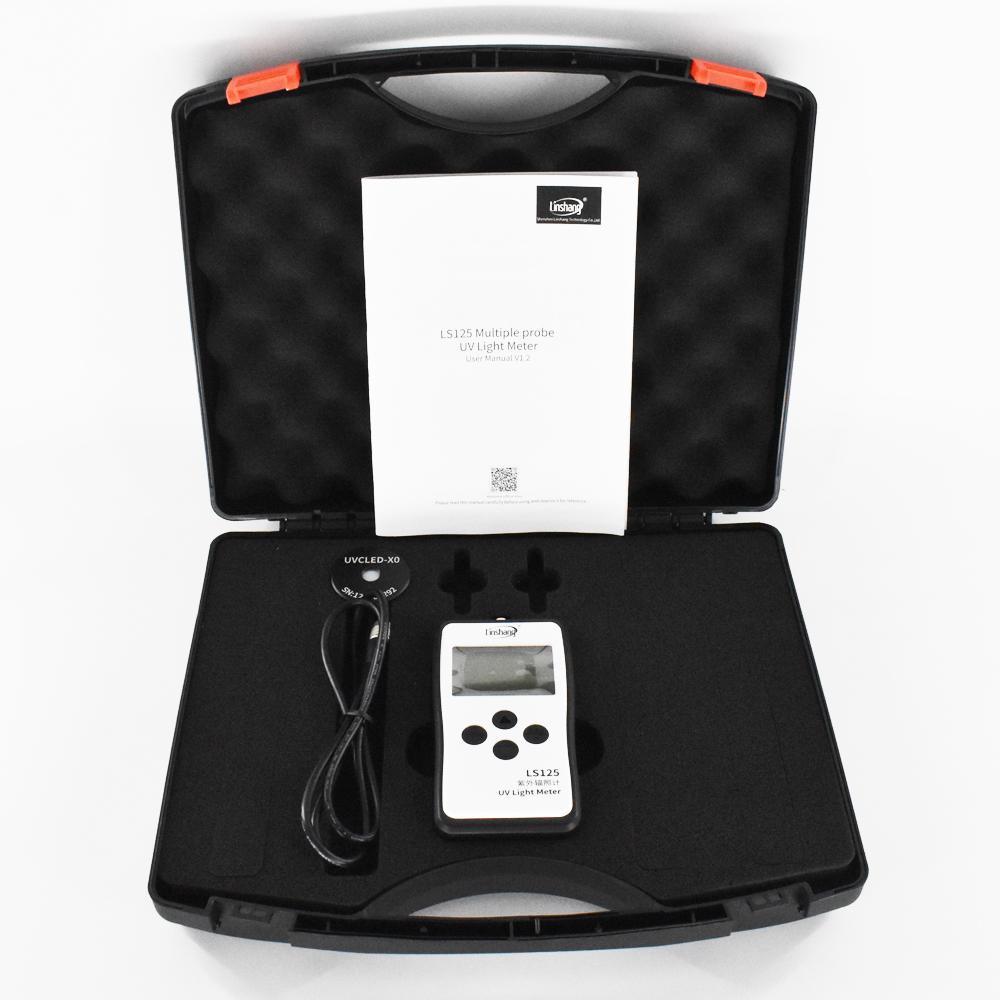 UVC probe for sterilization lamp Intensity and Energy UV light meter power meter 5