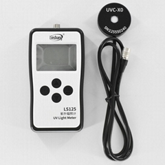 UVC Light Meter 254nm UV bactericidal mercury lamp radiation Intensity Energy