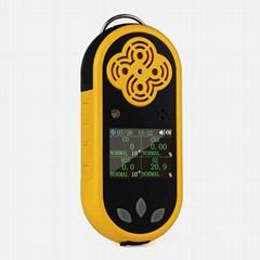 4 In 1 Multi gas Detector K-400 CO, H2S,O2,CH3 multi gas analyzer Gas Monitor