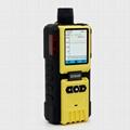 Pumping O3 Gas Detector K-600 Ozone meter Industrial Alarm detector 0-50ppm