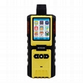 4 in1 Gas Detector K-600 Pumping EX H2S CO O2 Gas explosion-proof Alarm detector