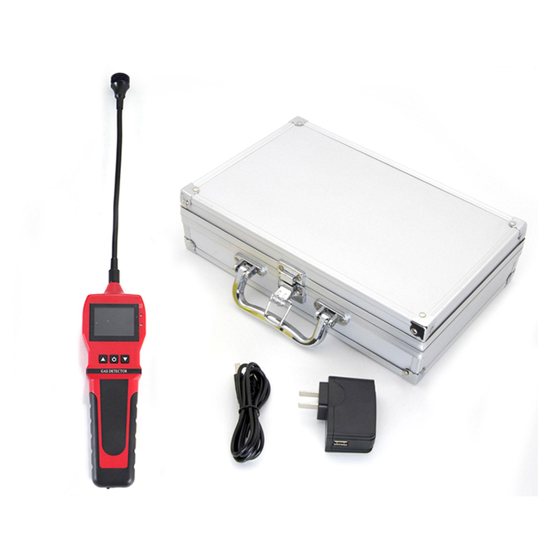 2 in 1 Gas Monitor BH-90E Refrigerant Freon Combustible Gas LPG CH4 Gas Analyzer 6