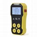 4 in 1 Multi Gas Detector BH-4A O2 H2S CO LEL Air Quality Detector Gas Analyzer