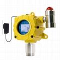 K-G60 Fixed H2S Gas Detector Hydrogen sulfide Gas alarm Monitor Remote Control