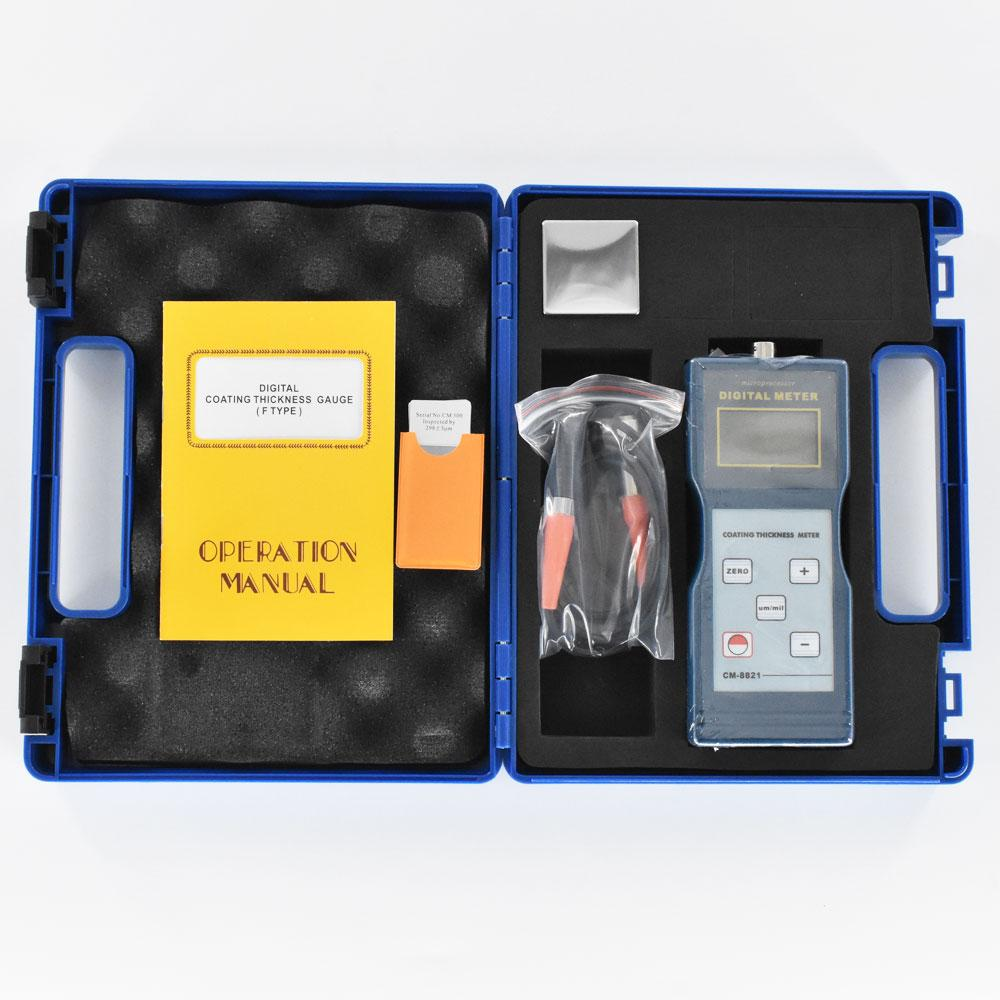Coating Thickness Gauge CM-8821 0~1000um lacquer layer,paper thickness Meter  5